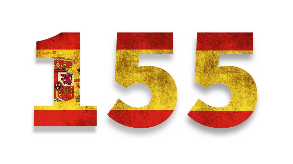Un artículo 155 de oropel