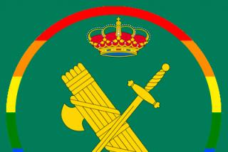 El emblema gay de la Guardia Civil