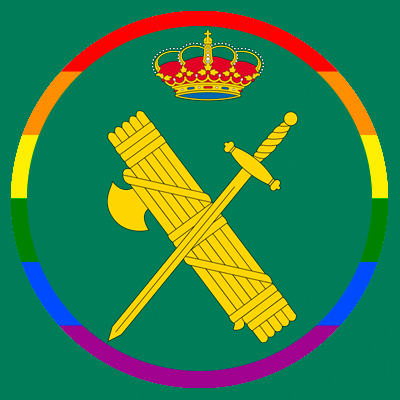 El emblema gay de la Guardia Civil