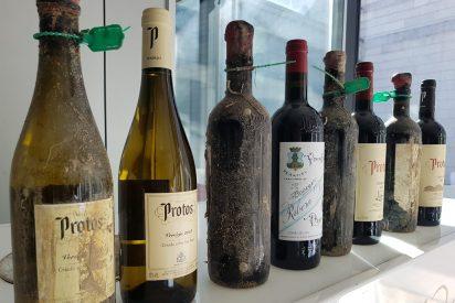 Bodegas Protos cata sus primeros vinos submarinos