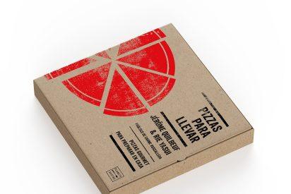 Pizzas para llevar, un libro de Jérôme Quilbeuf para preparar pizzas gourmet en casa