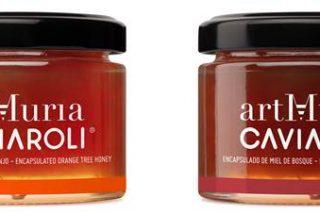 La miel de lujo de ArtMuria se transforma en perlas de Caviaroli