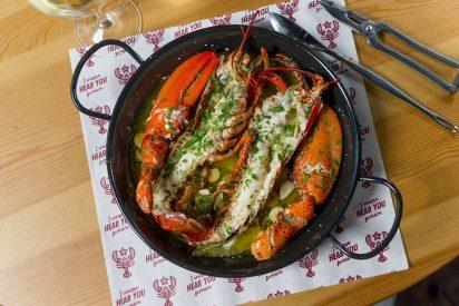 Lobster Plates, la nueva propuesta de bogavante de The Lobstar