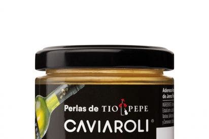 Caviaroli presenta sus nuevas perlas de Tío Pepe, y perlas de Néctar