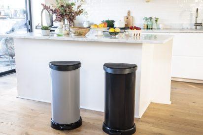 Línea de cubos de reciclaje D-Shape ¡La forma sí importa!