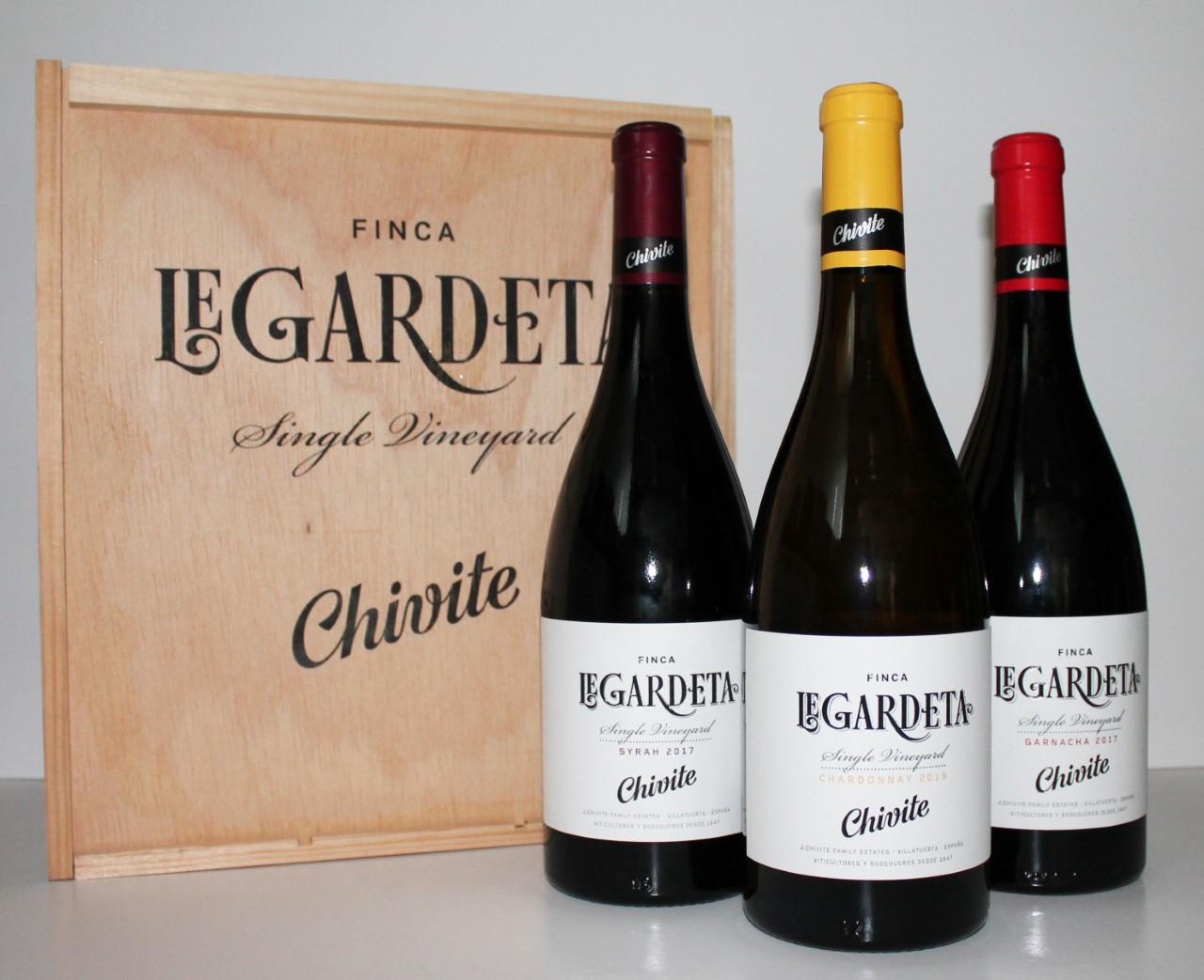 Nuevos vinos monovarietales de Chivite nacidos en la Finca de Legardeta