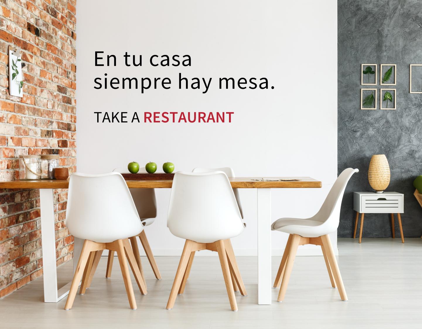 Nace Take a Restaurant, la plataforma que traslada la experiencia de un restaurante a tu casa
