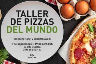 """Aprende a cocinar """"pizzas del mundo"""" de la mano de personas refugiadas"""