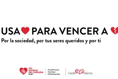 Únete a la campaña internacional del Día Mundial del Corazón: Ahora más que nunca, yo #UsoMiCorazón