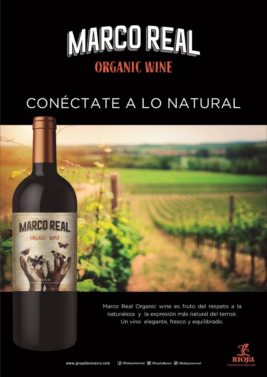 Vinos y Bodegas Marco Real apuesta por el vino ecológico con su Marco Real Organic Wine 2018