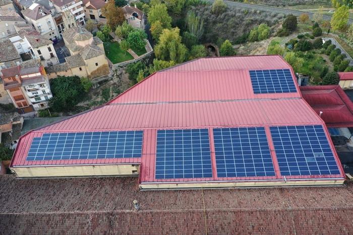 Nueva instalación de autoconsumo solar en Bodegas Riojanas, un paso más en su compromiso por la sostenibilidad