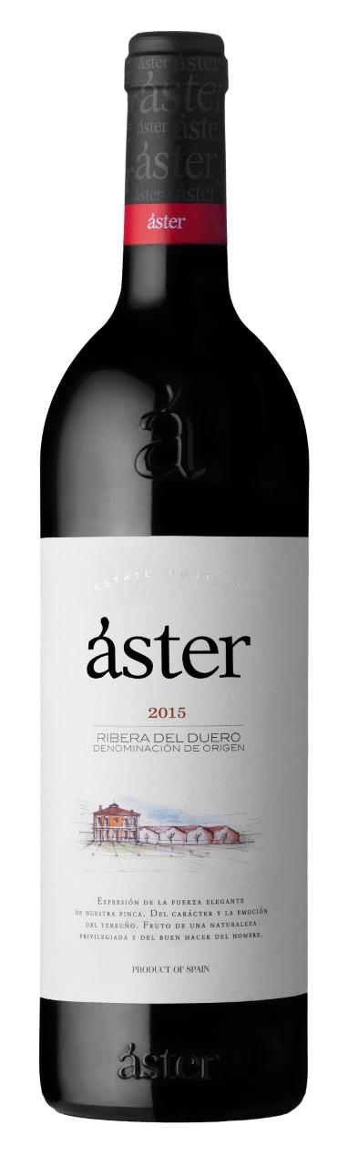 Áster Crianza 2015, un vino elegante que es fiel reflejo de la Ribera del Duero