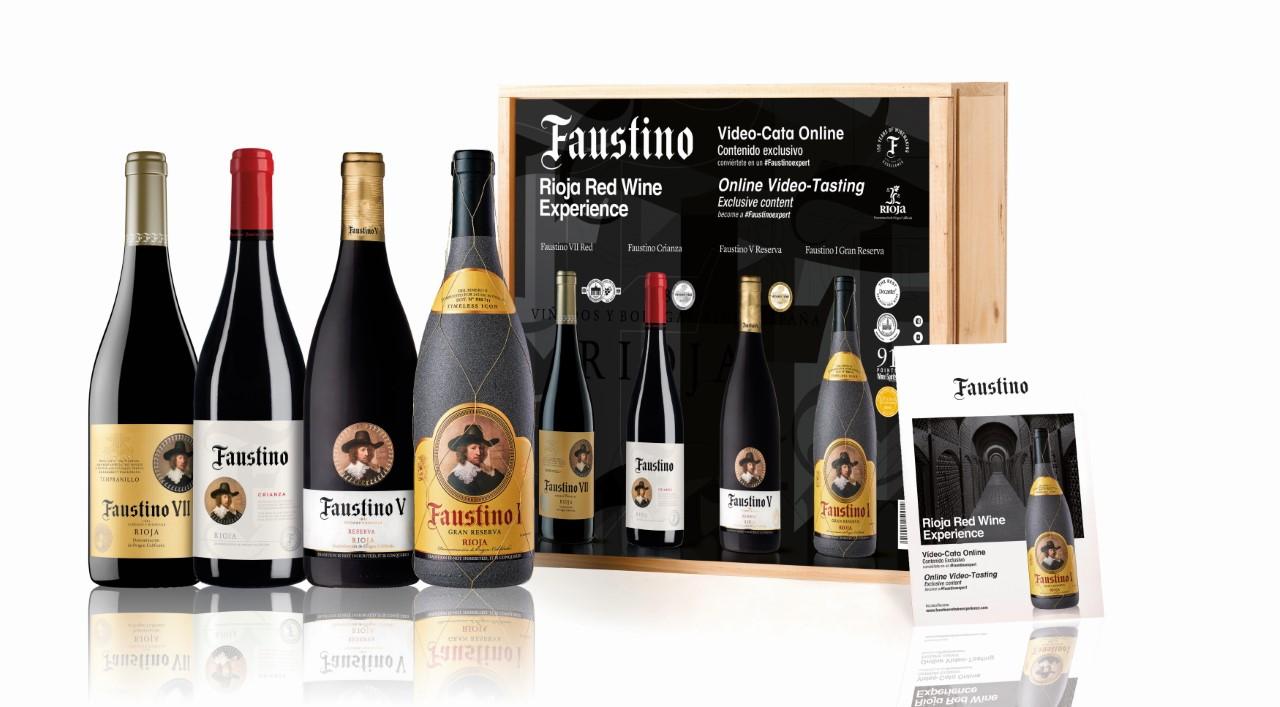 Cómo ser un Faustino Expert desde tu casa con el Pack Faustino Red Wine Experience