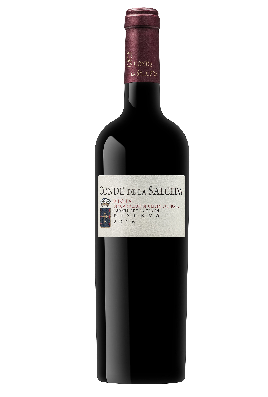 Conde de la Salceda Reserva 2016, un vino corpóreo, denso y sedoso para disfrutar con tiempo