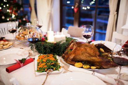 Navidades con menos riesgo de engordar y celebraciones, las justas