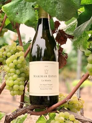 Marimar Estate La Masía Chardonnay 2017 y Acero 2018 brillan en los Chardonnay Masters 2020