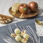 Dos recetas con manzanas Marlene en San Valentín 2/2: esferas de manzana con chocolate blanco, bizcocho de canela y compota de jengibre
