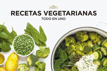 Más de 80 recetas vegetarianas para cocinar en un abrir y cerrar de ojos y en one pot (todo en uno)