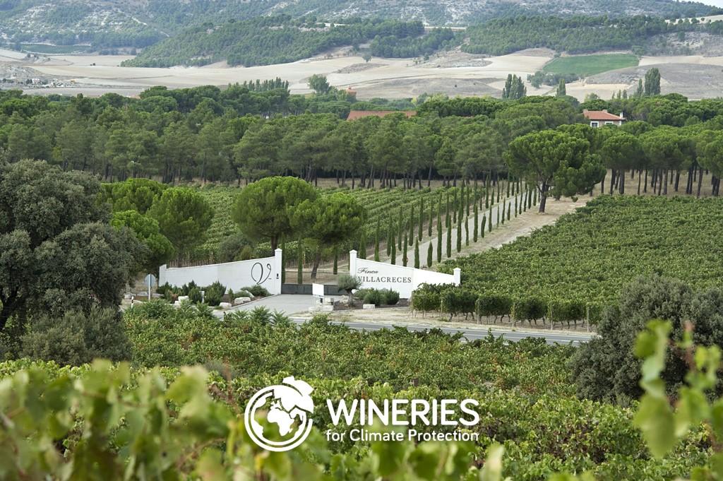 Finca Villacreces obtiene el certificado Wineries for Climate Protection