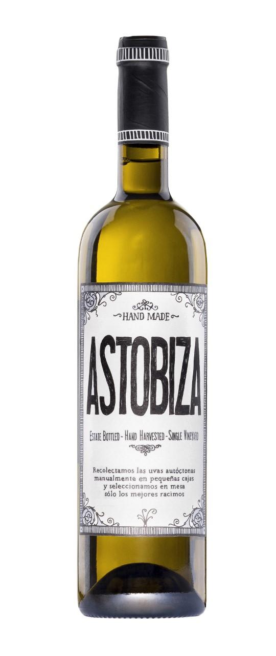 Dos vinos de la D.O.P. Txakolí de Álava de Bodega Astobiza: Astobiza Blanco y Astobiza Rosé