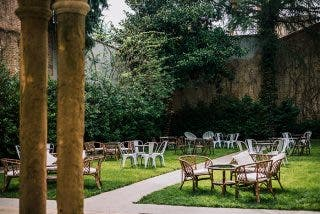 Varsovia en El Jardín, de cócteles en la terraza de un palacio