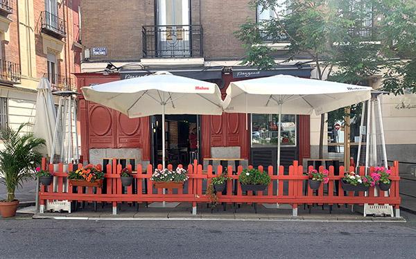 El verano en Madrid: algunas pistas de restaurantes con terraza, y una en Málaga 2/2