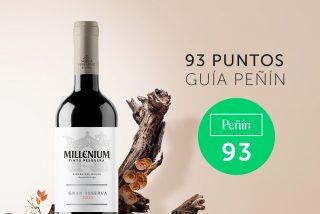 Tinto Pesquera Millenium Gran Reserva 2015 de Bodegas Tinto Pesquera Premiado con 93 Puntos por 'Guía Peñín 2021'