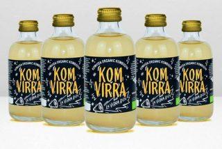 Komvida lanza Komvirra, la birra sin con todo el sabor de la cerveza y todo lo bueno de la kombucha