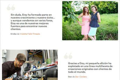 Vender productos hechos a mano en Internet, crea tu tienda online en Etsy