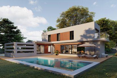 Casas Pasivas Madrid -ABS modelo Ter