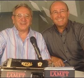 José Manuel Vidal, junto a Pedro Miguel Lamet