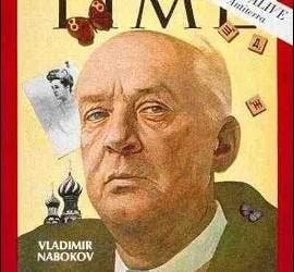 Vladimir Nabokov, portada de Time.