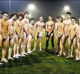 Desnudos en un calendario.