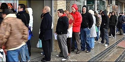 Todo el mundo est asustado ante el desastre de la for Bolsa de trabajo oficinas de gobierno