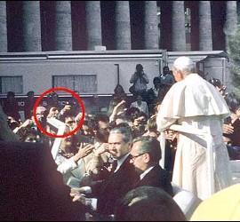 Atentado de Agca contra Juan Pablo II