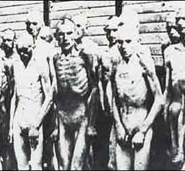 Víctimas del Holocausto, en los campos de concentración nazis.