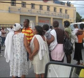 Cáritas ya está trabajando en Haití