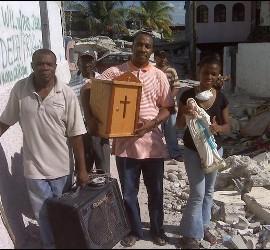 El provincial de los claretianos, desde Haití