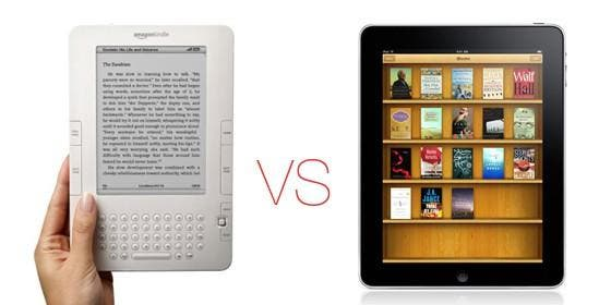 ipad vs kindel Is the apple ipad or the amazon kindle the better e-book reader mandy wolf detwiler says it all comes down to how you want to use the device and personal preference.