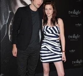 Robert Pattinson y Kristen Stewart.
