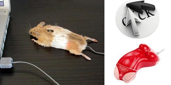 Los ratones de ordenador ms curiosos y extraos que hayas visto