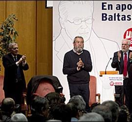 Acto de apoyo a Garzón en la Complutense.