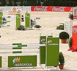 Una competición en la hípica Almenara.