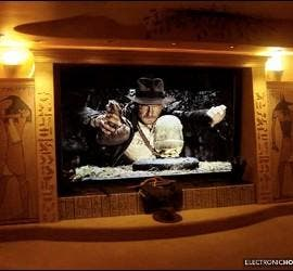 Sala de cine Indiana Jones.
