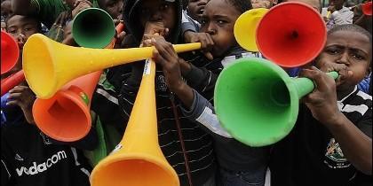 Vuvuzelas.