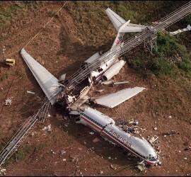 Accidente de American Airlines McDonnell Douglas MD82 en Arkansas.