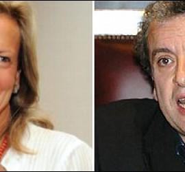 Isabel San Sebastián y José María Calleja.