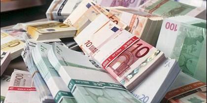 Dinero en euros.