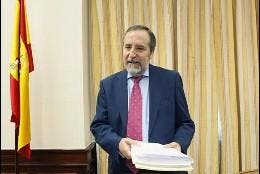 El diputado socialista Juan Barranco.