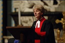 Jane Hedges, canônica anglicana